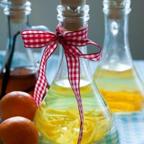 Naturalne ekstrakty: waniliowy, pomarańczowy i cytrynowy