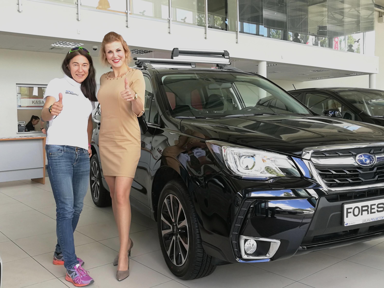 Szczecinianka  na szczytach w Polmotor Subaru Team