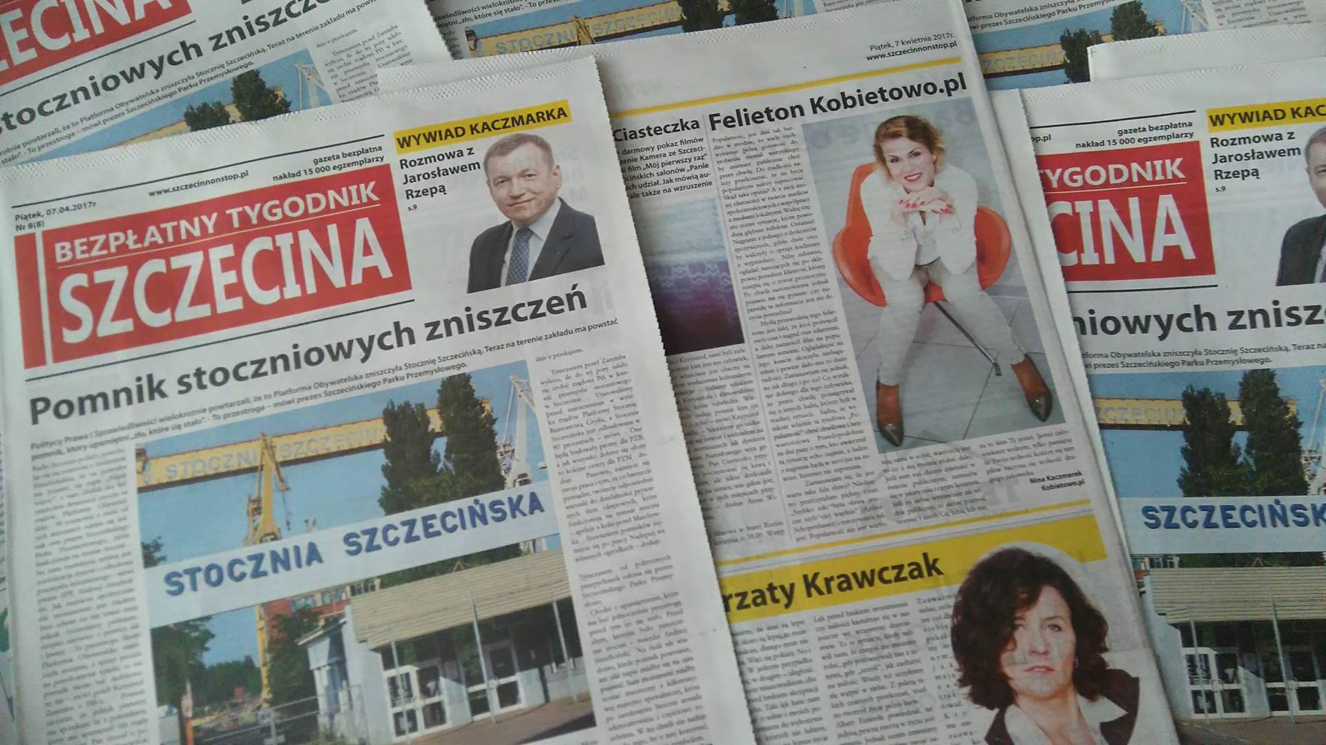 Popularność Bezpłatny Tygodnik Szczecina Felieton Kobietowo.pl cz. I