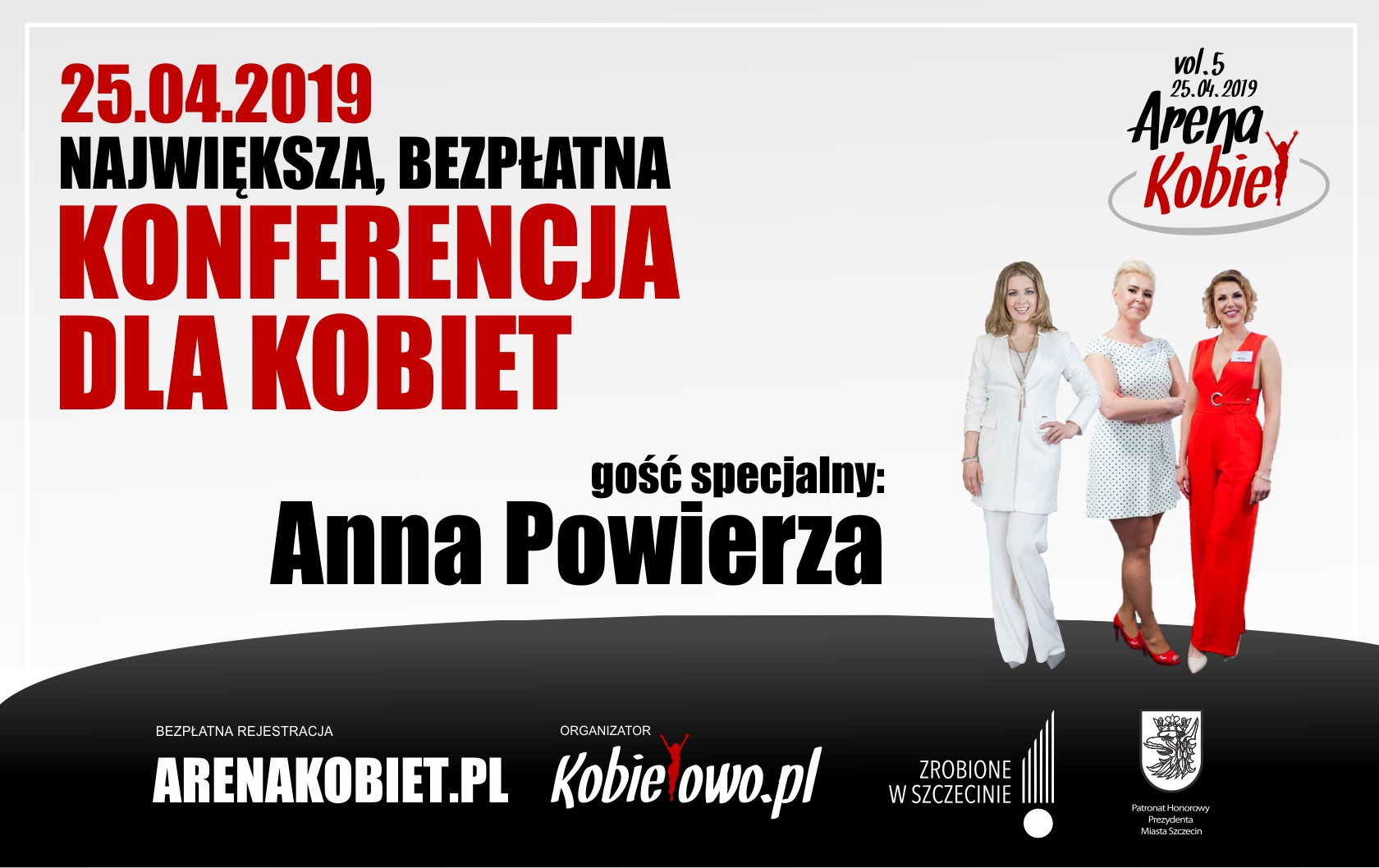 Arena Kobiet vol. 5 Rejestracja!!!