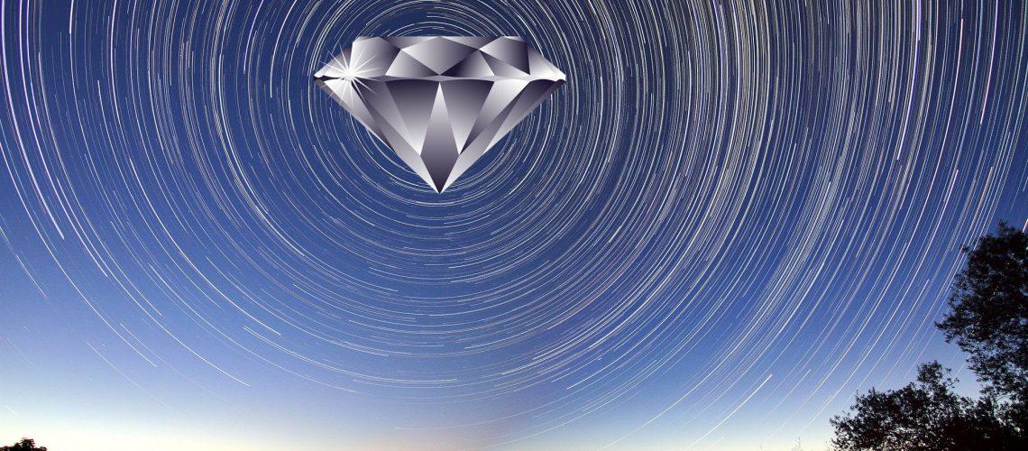 Diament w kosmosie
